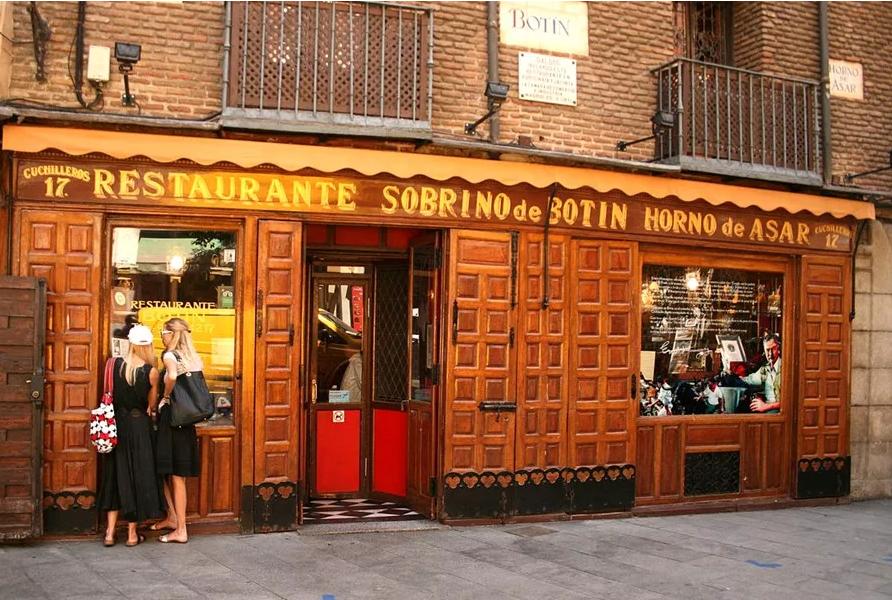 西班牙各地百年名餐厅,看到最后一家我决定今天就去!