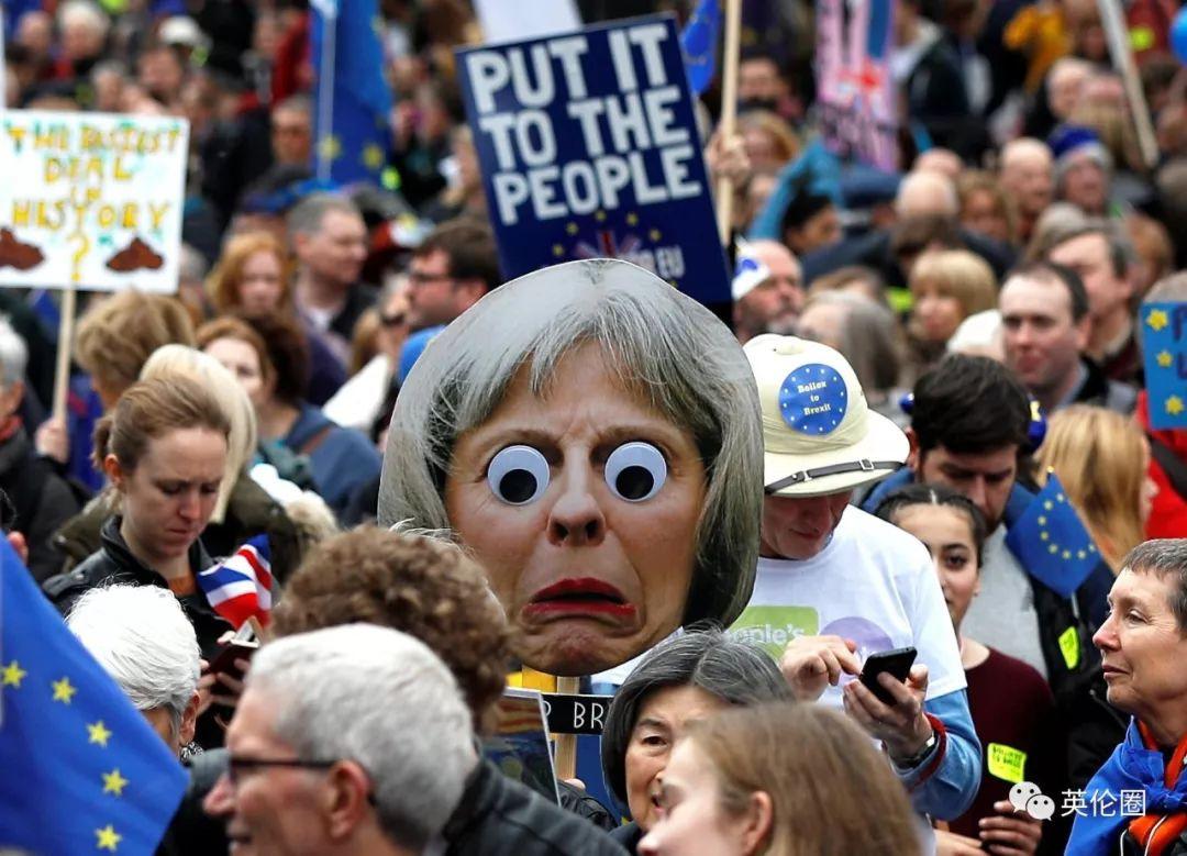 今天伦敦100万人集体求