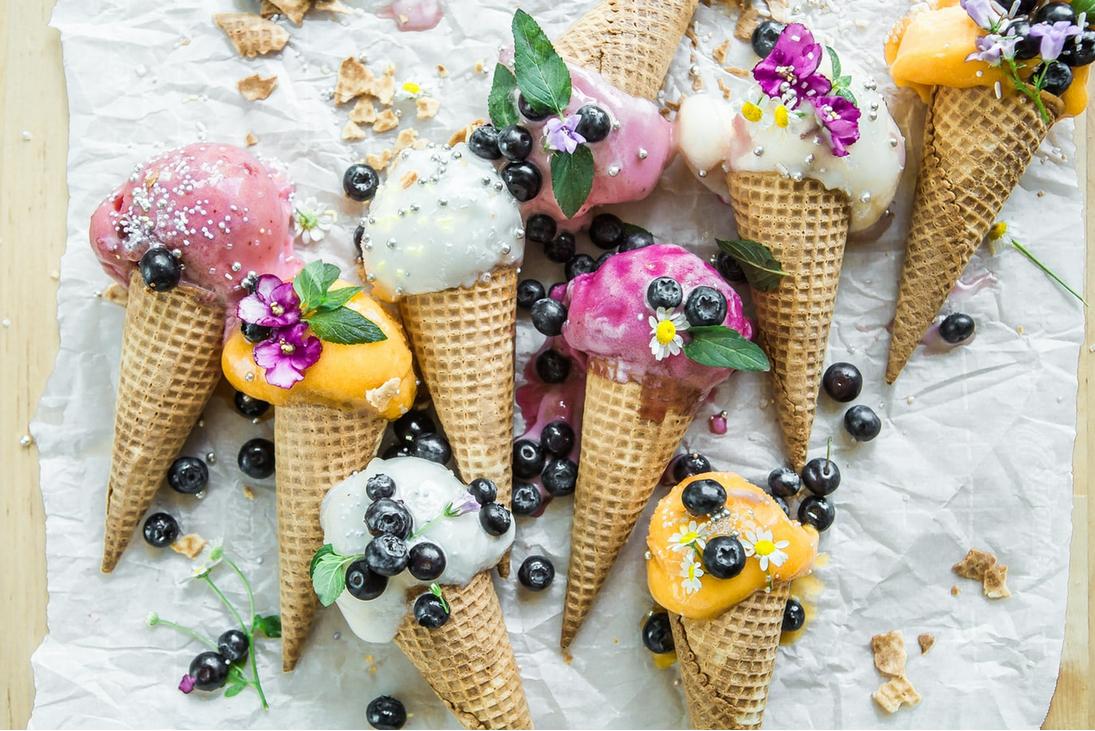 """超神奇的""""冰淇淋减肥法"""",美味又解暑,一周瘦6斤!"""