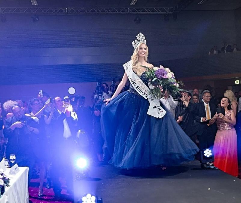 欧洲最美女孩花落奥地利