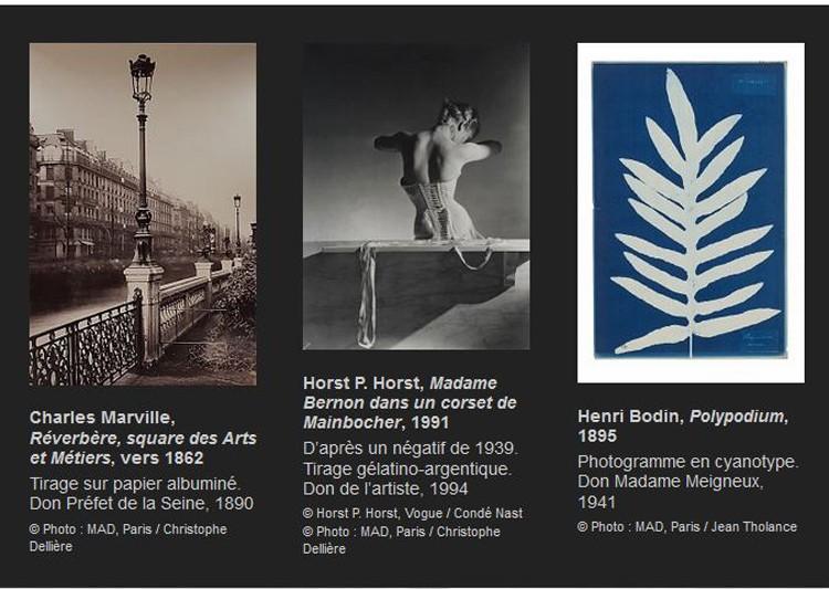 摄影历史 - 巴黎装饰艺术博物馆藏品展