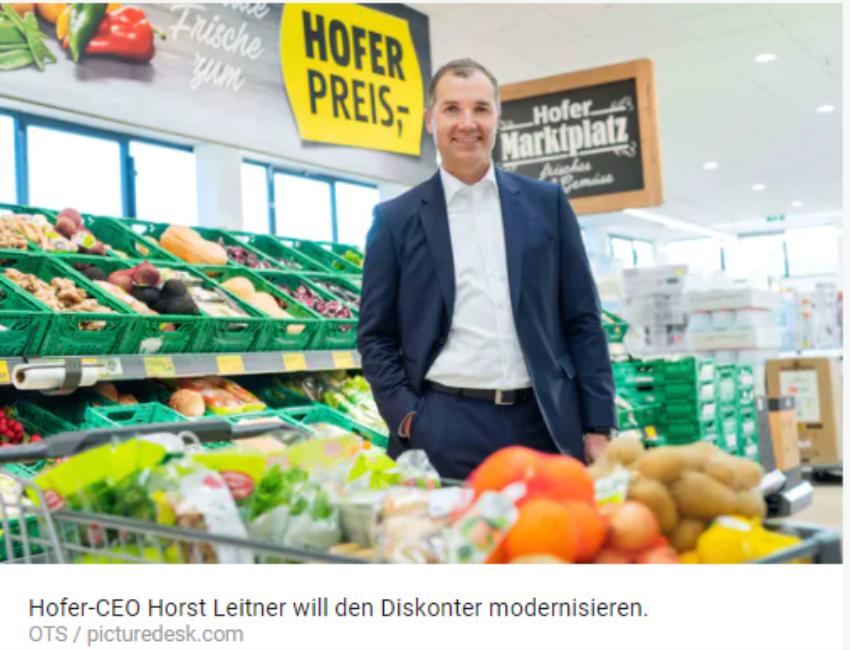 奥地利连锁超市Hofer要开网上商店啦!