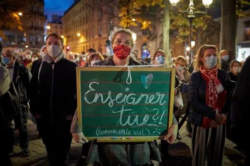 """又有学生对老师实施暴力!近半数法国教师曾遭人身威胁,教书育人已成""""高危职业""""?"""